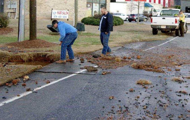 3WEB road cracks